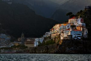 central italy and the amalfi coast